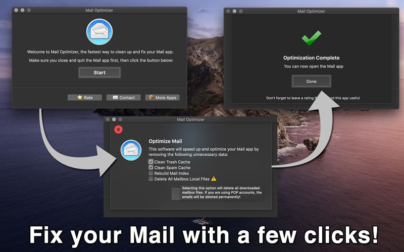 Mail Optimizer for Mac