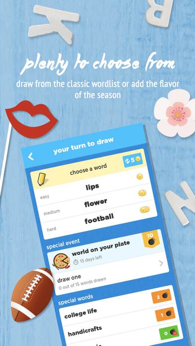Screenshot from Draw Something Classic