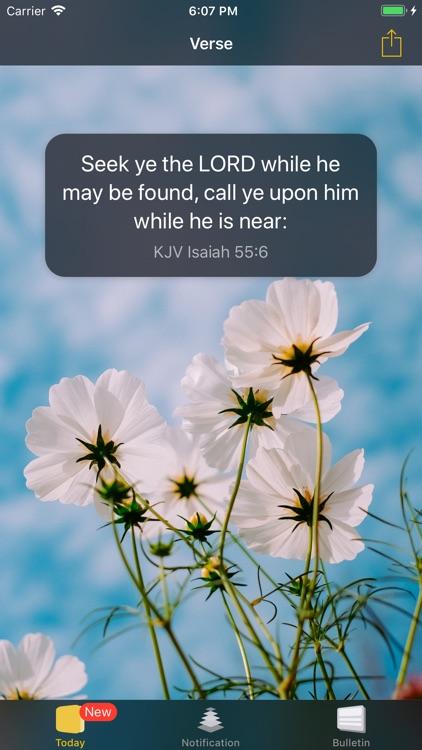BreadVerse: Daily Bible Verse screenshot-0