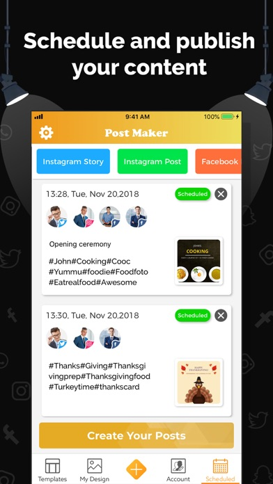 Post Maker, Graphic Creator screenshot three