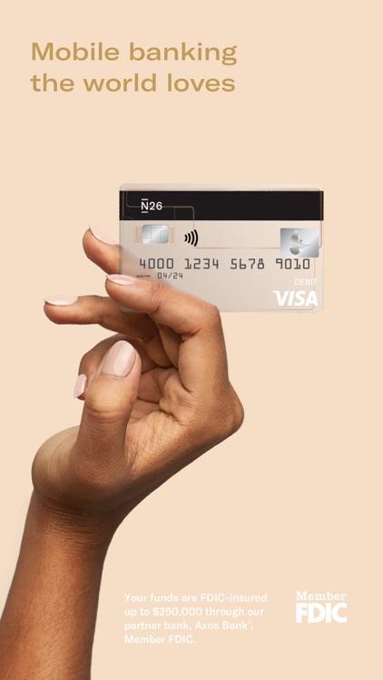 N26 Mobile Banking screenshot-0