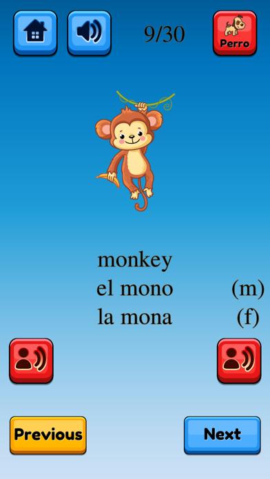 Fun Spanish Flashcards Pro screenshot #8