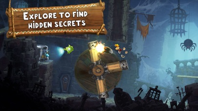 Screenshot from Rayman Adventures