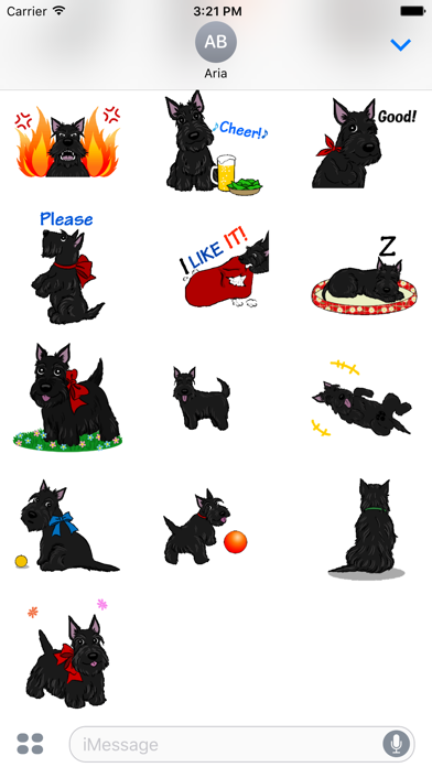 Screenshot for Animated Adorable Scottie Dog in United States App Store