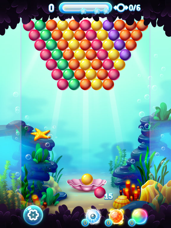 Bubble Shooter Ocean screenshot 8