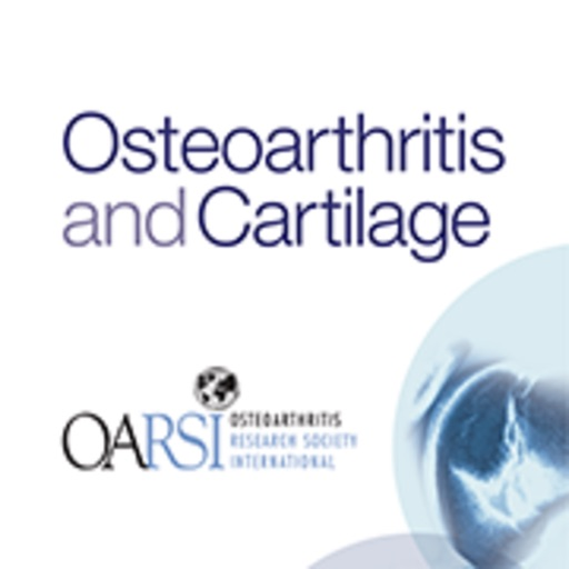 Osteoarthritis and Cartilage icon