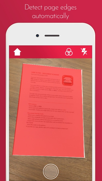 Cam to PDF - Document Scanner