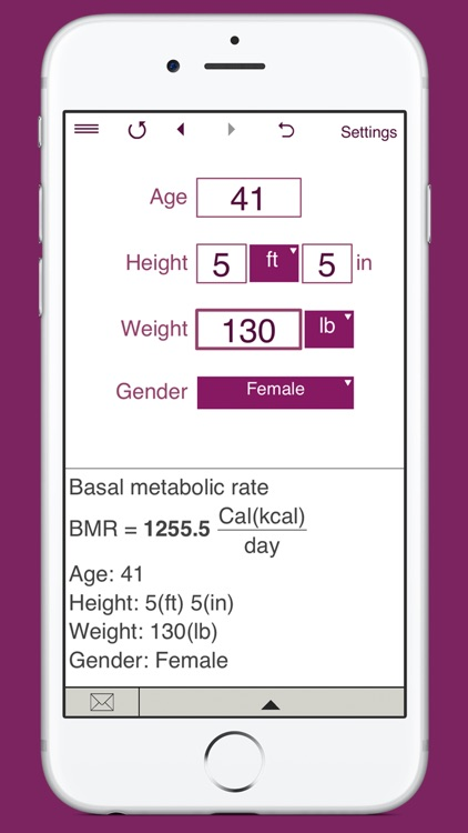 TDEE Calculator + BMR + BMI screenshot-3