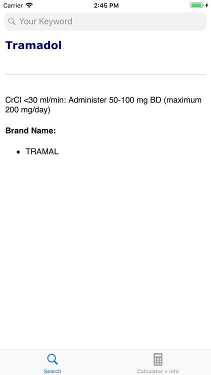 Renal Dose Adjustment & CrCl