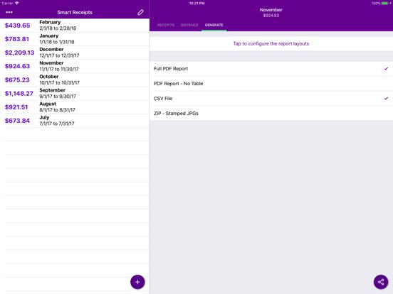 Screenshot #5 pour Smart Receipts