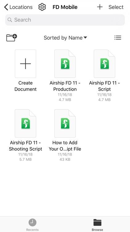 Final Draft Mobile screenshot-4