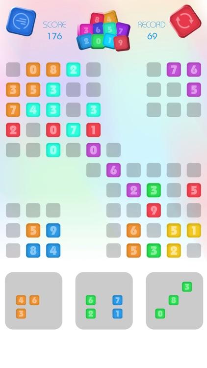 Numbers Block Puzzle - Match 3 screenshot-4