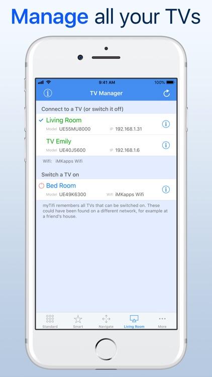 myTifi remote for Samsung TV screenshot-3