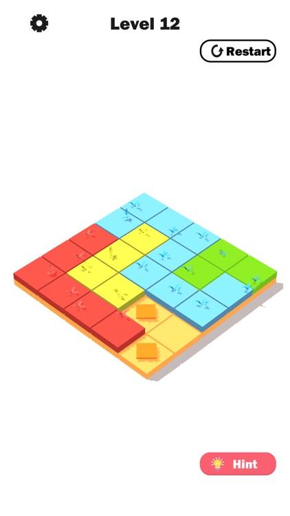 Flower Link -Color Fill Puzzle screenshot-3