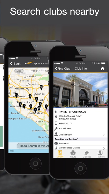 LA Fitness Mobile screenshot-1