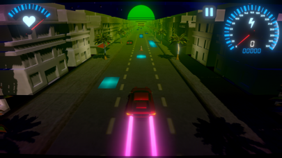 OverDrive - Synthwave Racerのおすすめ画像2
