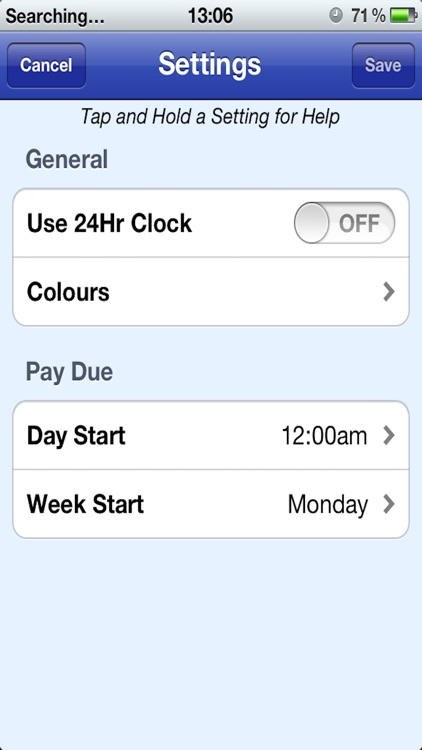 Easy Pay Diary screenshot-4