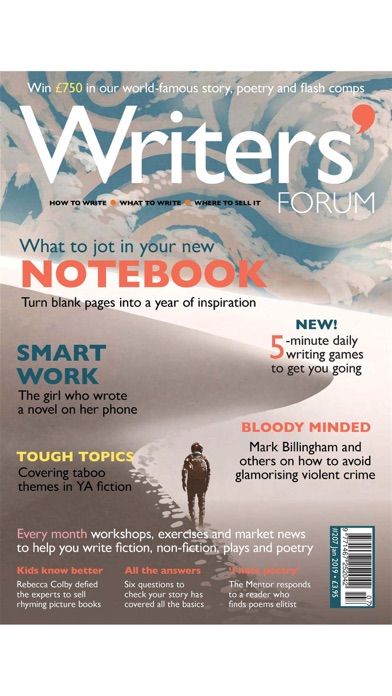 Writers' Forum Magazine Screenshot