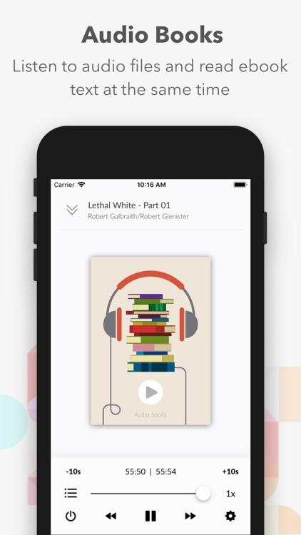 AA Reader - Ebook reader screenshot-3