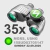 BINOCULARS  35X GPS STAMP - iPhoneアプリ