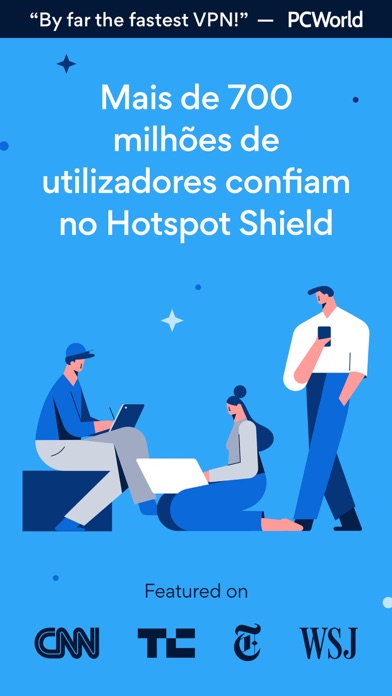 Baixar HotspotShield VPN & Wifi Proxy para Android