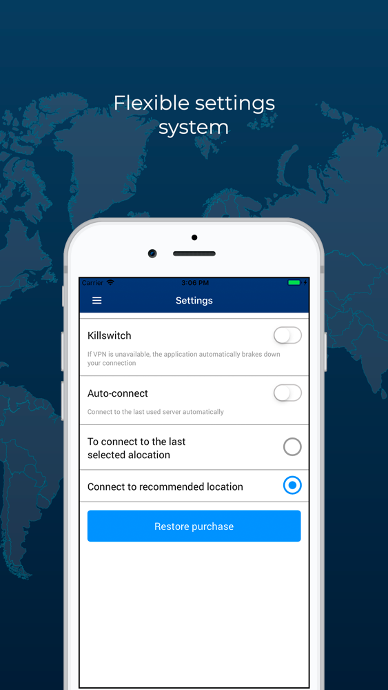 RusVPN – fast and secure VPN App for iPhone - Free Download