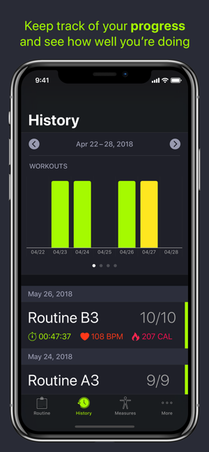 ‎SmartGym: Manage Your Workout Screenshot