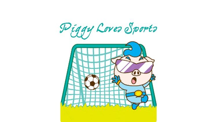 Piggy Loves Sports