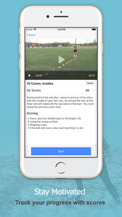 Techne Futbol Screenshot