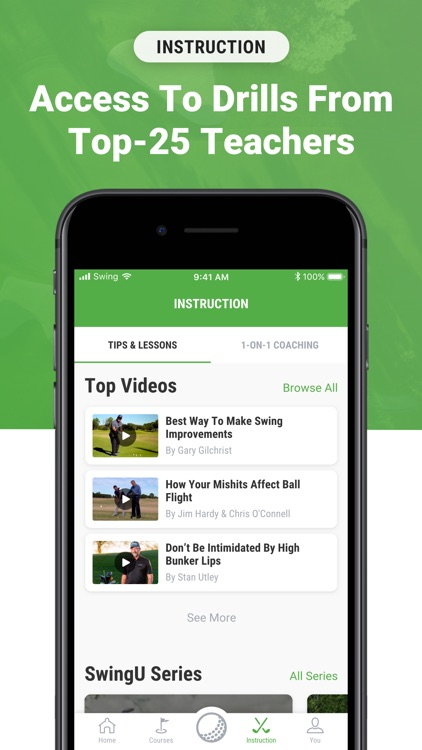 Golf GPS & Scorecard by SwingU screenshot-6