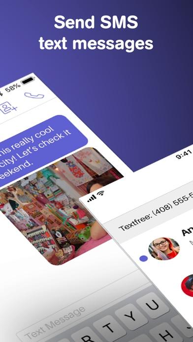 Text Free Calling App app image