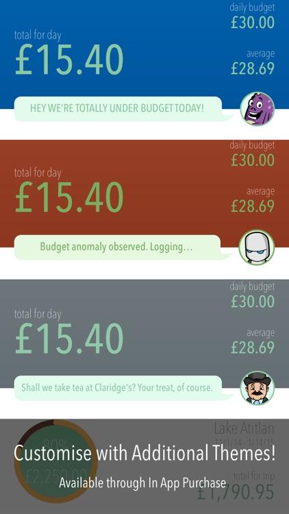 Trail Wallet Travel Budget App screenshot-4