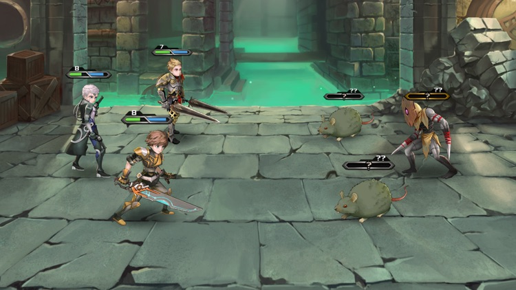 Azure Saga: Pathfinder screenshot-3