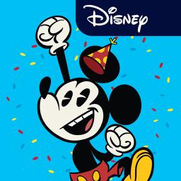 Ícone do app Disney Stickers: Mickey