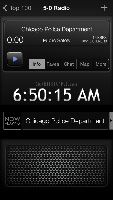 Screenshot for 5-0 Radio Police Scanner in United States App Store