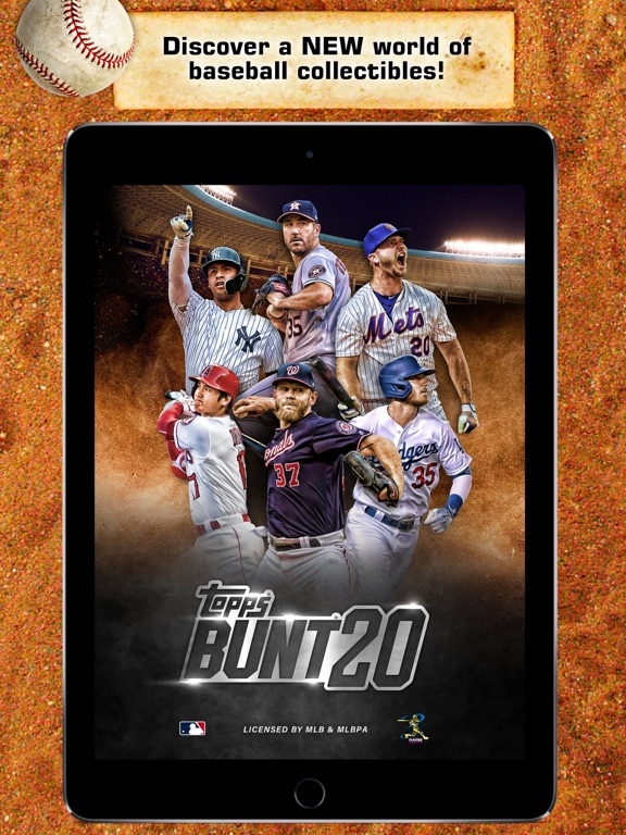 BUNT: The MLB Digital Baseball Trading Card Game screenshot