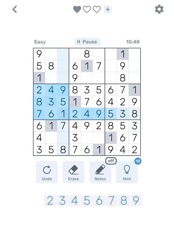 Sudoku Logic: Brain Math games screenshot 7
