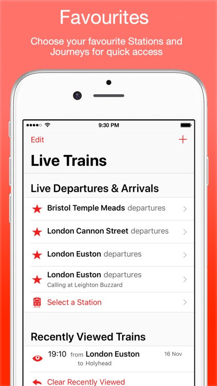 UK Live Train Times
