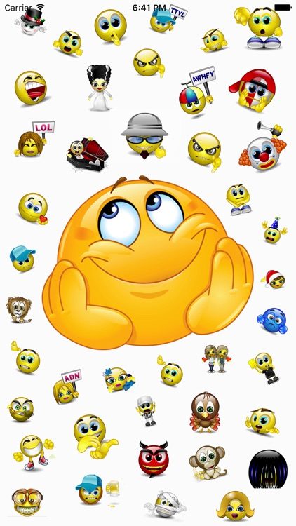 Talking Smileys Emoji – Funny screenshot-0