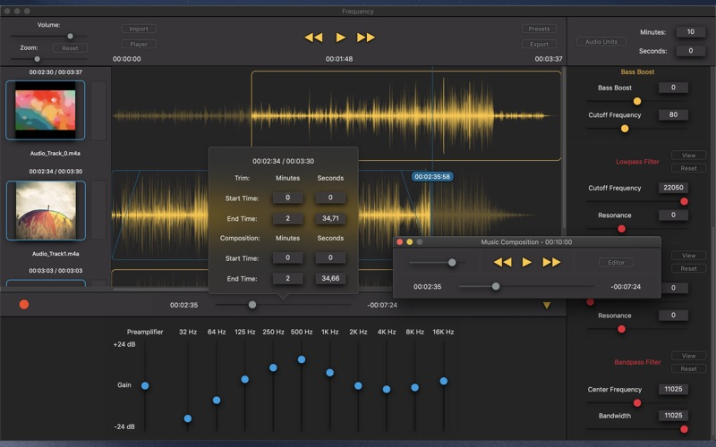 Frequency - Music Studio for Mac