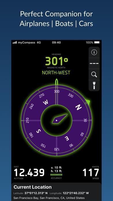 myCompass - Powerful & Quick screenshot three
