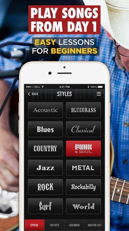 Guitar Lessons - Guitar Tricks screenshot-4