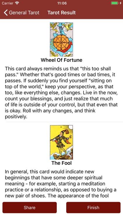 Tarot Card Reading Daily Tarot screenshot-3