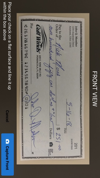 Gulf Winds Mobile Banking screenshot-4