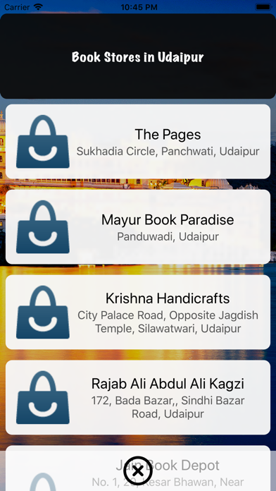 Udaipur Places Directory app image
