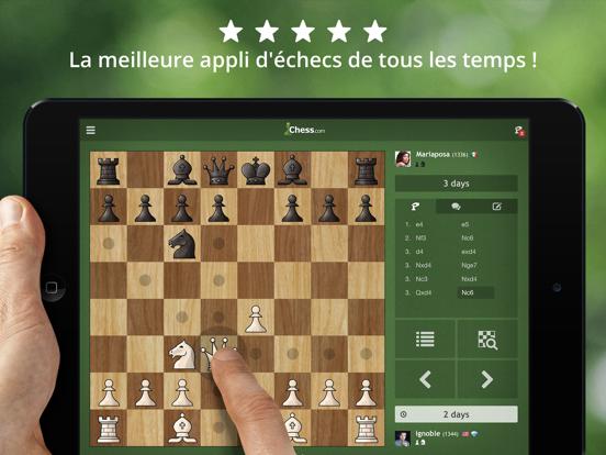Screenshot #4 pour Échecs - Jouer et apprendre