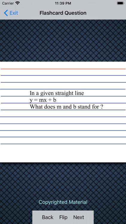 Algebra 1 - Linear Functions screenshot-3