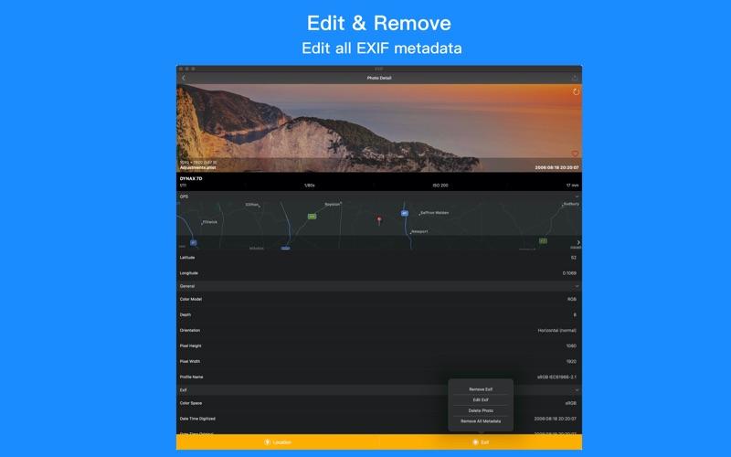 Power Exif-照片信息查看器 for Mac