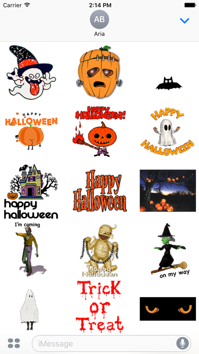点击获取Animated Happy Halloween Gif