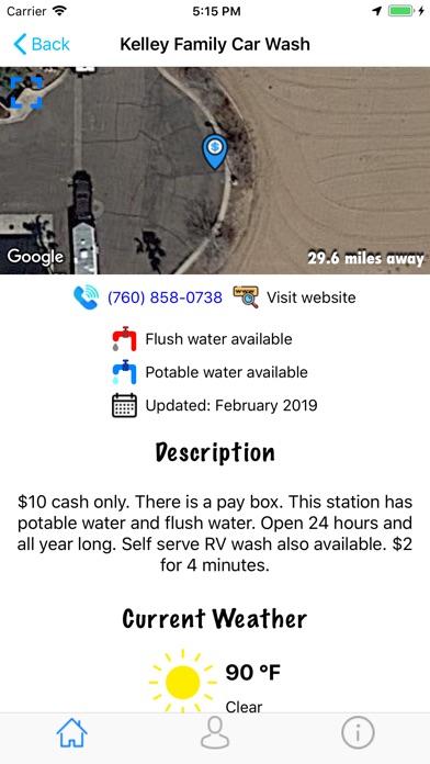 RV Dump Station Finder Screenshots